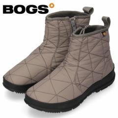 【BIGSALEクーポン対象】 BOGS ボグス ブーツ レディース SNOWDAY LOW 72239 スノーデイ ロー グレー スノーブーツ 防水 防滑