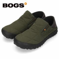 【BIGSALEクーポン対象】 BOGS ボグス メンズ B-モック スライド 78837S グリーン B-MOC SLIDE スリッポン 防水 保温 防滑 2WAY