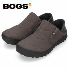 【BIGSALEクーポン対象】 BOGS ボグス メンズ B-モック スライド 78837S グレー B-MOC SLIDE スリッポン 防水 保温 防滑 2WAY