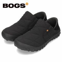 【BIGSALEクーポン対象】 BOGS ボグス メンズ B-モック スライド 78837S ブラック B-MOC SLIDE スリッポン 防水 保温 防滑 2WAY
