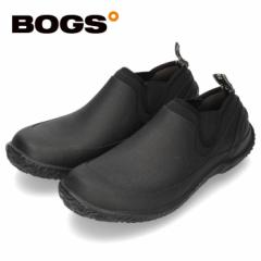 【BIGSALEクーポン対象】 BOGS ボグス メンズ レインシューズ アーバン ウォーカー 52094  ブラック URBAN WALKER スリッポン 防水 保温