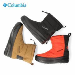 コロンビア Columbia メンズ レディース スピンリールブーツ 2 ウォータープルーフ オムニヒート YU0337 010 202 811  ブラック ブラウン