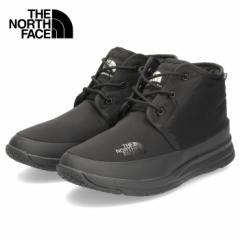 ザ ノースフェイス メンズ ブーツ ヌプシ トラクション ライト ウォータープルーフ チャッカ NF52085 KN ブラック ナイロン ウィンターブ