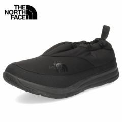 ザ ノースフェイス メンズ シューズ ヌプシ トラクション ライト モック NF52086 KN ブラック ナイロン ウィンターモックシューズ