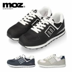 MOZ モズ スニーカー レディース ローカット 靴 1022 おしゃれ レースアップ 女の子 カジュアル 軽量 人気