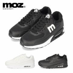 MOZ モズ スニーカー レディース 靴 826 厚底スニーカー おしゃれ エアーソール 3E 女の子 カジュアル