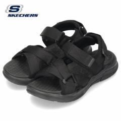 スケッチャーズ サンダル メンズ 237050 ブラック スポーツサンダル SKECHERS EQUALIZER 4.0 SANDAL TOLGUS