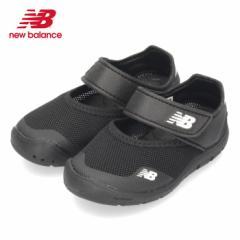 ニューバランス new balance IO208 BK2 キッズ サマーシューズ ウォーターシューズ サンダル スポーツサンダル ブラック ベルクロ 子供靴