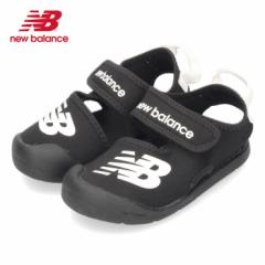 ニューバランス new balance キッズ ベビー サンダル IOCRSRBK ブラック 2053 黒 子供 スポーツサンダル