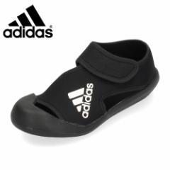 アディダス adidas キッズ サンダル AltaVenture C アルタベンチャー D97902 ブラック 子供用