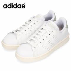【還元祭クーポン対象】adidas アディダス メンズ 靴 EE7683 スニーカー ADVANCOURT LEA U アドヴァンコート コート系 ホワイト パンチン