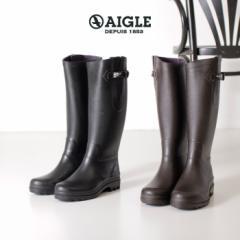 【BIGSALEクーポン対象】 AIGLE エーグル レインブーツ レディース エーグランティーヌ 8880 AIGLENTINE 2  長靴 ロング 正規品 黒 ブラ