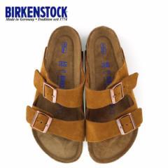 【還元祭クーポン対象】ビルケンシュトック BIRKENSTOCK アリゾナ BS ソフトフットベッド 1009526 幅広 メンズ サンダル 靴 ミンク ブラ