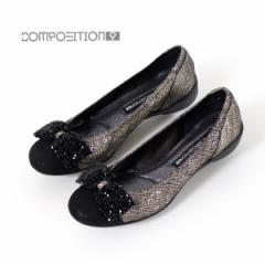 【BIGSALEクーポン対象】 コンポジション9 COMPOSITION9 靴 2660 コンフォートシューズ レディース パンプス バレエシューズ コンポジシ