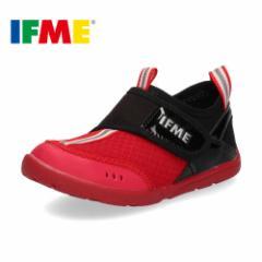 【BIGSALEクーポン対象】 IFME イフミー サンダル 子供靴 水陸両用 キッズ 30-9019 SANDALS RED 通園 通学 水遊び プール レッド