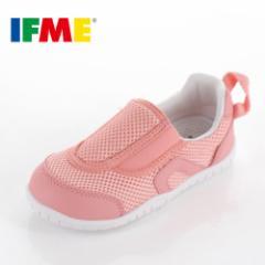 【BIGSALEクーポン対象】 IFME イフミー 子供靴 スニーカー キッズ うわばき シューズ SC-0007 PINK 通園 通学 運動靴 内履き ピンク
