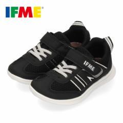 スニーカー イフミー キッズ IFME Light シューズ 22-9710 BLACK ブラック ジュニア 子供靴 ベルクロ 軽量