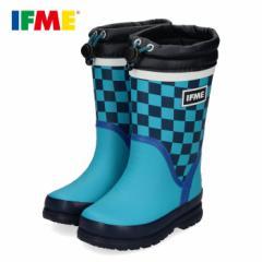レインブーツ 長靴 イフミー キッズ IFME RAINBOOTS 80-9725 BLUE ブルー 子供