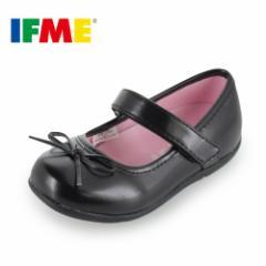 子供靴 フォーマル IFME FORMAL イフミー キッズ ジュニア シューズ 22-5020 BLACK パンプスタイプ 冠婚葬祭 入園 入学 卒業 リボン