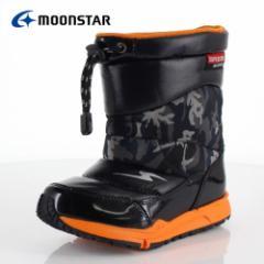 キッズ ブーツ 防水 MoonStar ムーンスター スーパースター 子供靴 SS WPC78SP ブラック 01-00078 ウインター ダウンブーツ スパイク