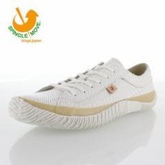 【BIGSALEクーポン対象】 スピングルムーブ SPINGLE MOVE SPM-132 White ホワイト メッシュ柄 メンズ レディース スニーカー 靴 日本製