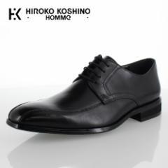 【BIGSALEクーポン対象】 ヒロコ コシノ オム HIROKO KOSHINO HOMME HK127 ブラック メンズ 靴 ビジネスシューズ スワールモカ 外羽式 本