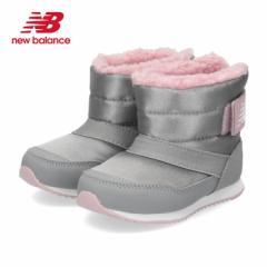 【BIGSALEクーポン対象】 ニューバランス キッズ ベビー ブーツ new balance IO996B TY GRAY/PINK 防寒 ボア グレイ