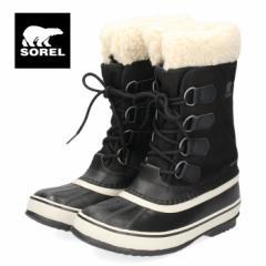 【還元祭クーポン対象】ソレル SOREL NL3483 011 レディース ブーツ ウィンターカーニバル ブラック 防水 防寒