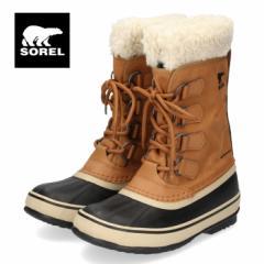 【還元祭クーポン対象】ソレル SOREL NL3483 224 レディース ブーツ ウィンターカーニバル キャメル 防水 防寒