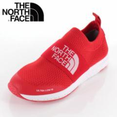 【還元祭クーポン対象】THE NORTH FACE ザ ノースフェイス 靴 NFJ51947 K Ultra Low III ウルトラロー スリッポン キッズ ジュニア 赤 レ