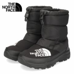 【還元祭クーポン対象】ザ ノースフェイス メンズ レディース ブーツ THE NORTH FACE NF51877 ブラック KK ヌプシダウンブーティー ユニ