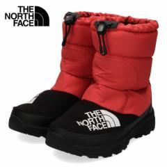 【還元祭クーポン対象】ザ ノースフェイス メンズ レディース ブーツ THE NORTH FACE NF51877 レッド RK ヌプシダウンブーティー ユニセ