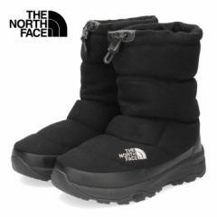 【還元祭クーポン対象】ザ ノースフェイス メンズ レディース ブーツ THE NORTH FACE Nuptse Bootie Wool V NF51978 K KK-51978 ヌプシブ