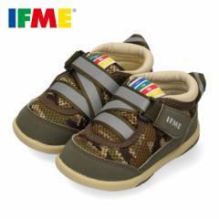 【BIGSALEクーポン対象】 スニーカー イフミー ベビー IFME シューズ 22-4700 KHAKI カーキ 子供靴 ベルクロ