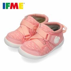 【還元祭クーポン対象】スニーカー イフミー ベビー IFME Light シューズ 22-9703 PINK ピンク キッズ 子供靴 ベルト ベルクロ 軽量