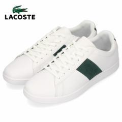 ラコステ メンズ スニーカー LACOSTE CARNABY EVO 319 1 SMA014L-1R5 WHT/DK GRN ホワイト レザースニーカー 靴