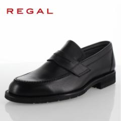 【BIGSALEクーポン対象】 リーガル REGAL 靴 メンズ ローファー ビジネスシューズ 30NRBB ブラック 紳士靴 日本製 3E 本革 防水