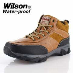 メンズ ブーツ ウイルソン Wilson 391 CAMEL メンズ ワークブーツ カジュアルブーツ 防水 防滑 3E キャメル ブラウン