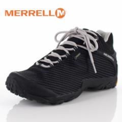 メレル カメレオン7 ストーム ミッド ゴアテックス J38559 BLACK/BLACK MERRELL CHAMELEON7 STORM MID メンズ トレッキングシューズ 靴