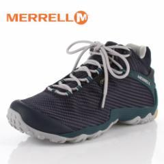 メレル カメレオン7 ストーム ミッド ゴアテックス J38561 NAVY/TEAL MERRELL CHAMELEON7 STORM MID メンズ トレッキングシューズ 靴