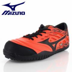 安全靴 ミズノ MIZUNO オールマイティ TD11L 紐タイプ F1GA190054 メンズ 靴 オレンジ ワーキング スニーカー 3E