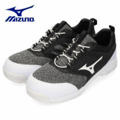【還元祭クーポン対象】MIZUNO ミズノ 靴 90309 安全靴 オールマイティES31L F1GA190309 ワーキング 耐滑 ゴム紐 3E ブラック メンズ JSA
