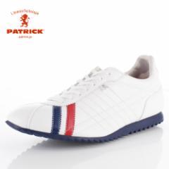 【BIGSALEクーポン対象】 パトリック スニーカー シュリー PATRICK SULLY C-TRC 26199 ホワイト トリコロール メンズ レディース 靴 日本