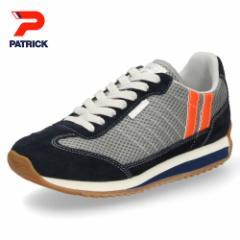 【BIGSALEクーポン対象】 パトリック スニーカー クール マラソン PATRICK C-MARATHON G/N 531204 グレー ネイビー メンズ レディース 靴