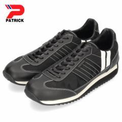 【BIGSALEクーポン対象】 パトリック スニーカー マラソン PATRICK MARATHON CF BLK 501731 ブラック メンズ レディース 靴 日本製