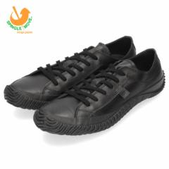【BIGSALEクーポン対象】 スピングルムーブ メンズ レディース スニーカー SPINGLE MOVE SPM-110 Monochrome ブラック 本革 靴 日本製