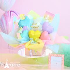 バルーン / バルーンアレンジ バルーン電報 結婚式 お誕生日 出産祝い 発表会 入学祝 [ユニコーン バルーン]