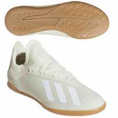 アディダス ジュニア エックス タンゴ 18.3 IN J オフホワイト×コアブラック×ゴールドメット  adidas DB2427