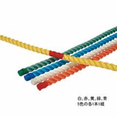 エバニュー 綱引きロープ 運動遊びロープ 5色1組  EVERNEW EKA423