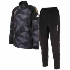 カッパ  Kappa ジュニア GArA LiBERO トレーニングジャケット&パンツ上下セット ブラック×ブラック